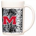 16oz white sublimation mug