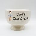 Ceramic ice cream bowl