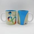 11oz soft touch/rubber feel sublimation mug 1