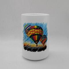 Sublimation porcelain cup ,no handle