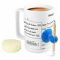 Ceramic schedule mug , 15oz