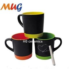 12 oz  Metro  chalk mug
