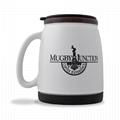 16oz ceramic travel mug with silicon