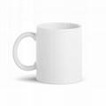 8oz sublimation mug, white