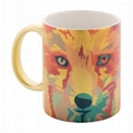Satin finish metallic sublimation mug