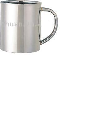 Stainless steel travel mug, sublimation coated,Car mug  5