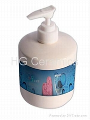 Soap dispenser,sublimation coated