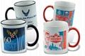Photo Mug, 11oz Color Trim & Handle