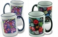 Sublimation Mug, 15oz Color Trim & Handle 1