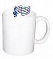 Music mug,sublimation coated