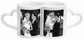 Love Mug, love handle mug, sublimation