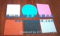 硅(矽)膠熱壓合材料