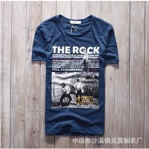 短袖男式T恤 1