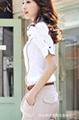 时尚短袖女式衬衣 2