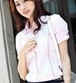 时尚短袖女式衬衣 4