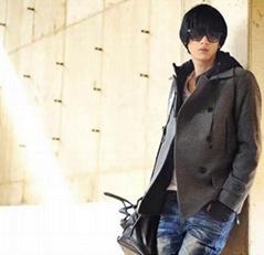 韩版毛呢大衣