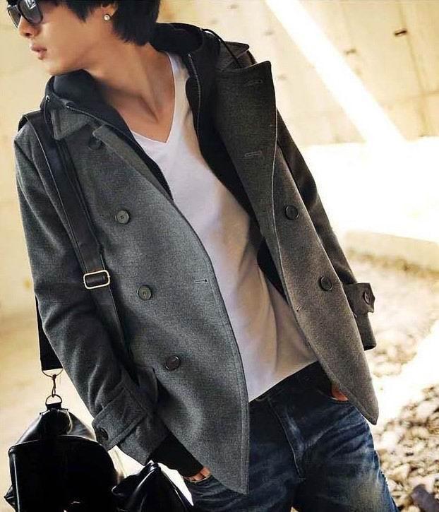 韩版毛呢大衣 2