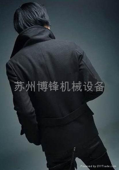 韩版毛呢大衣 4