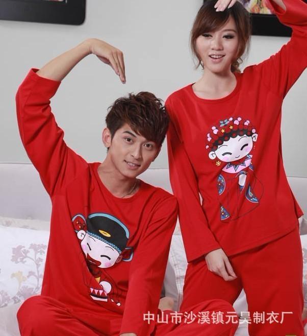 韩版睡衣套装 3