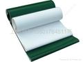 Lightweight PVC conveyor belt
