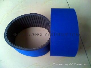 Blue cloth of labelling machine blue cloth gray sponge belt 1