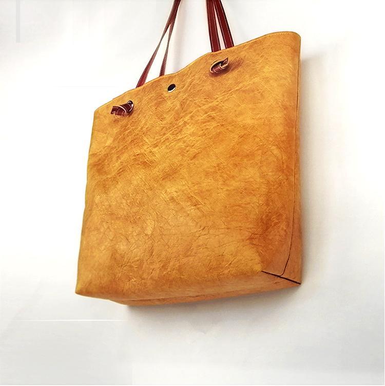 防水杜邦纸手提袋 环保休闲购物袋 可折叠手提包便携简约杜邦纸袋 3