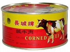 長城牌鹹牛肉340g