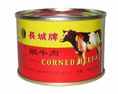 長城牌鹹牛肉170g