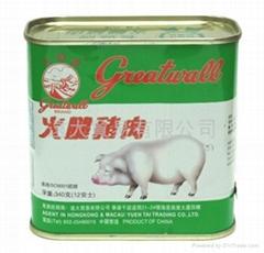 長城牌火腿豬肉(方)