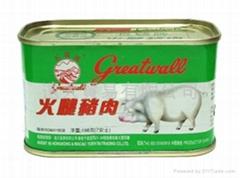 长城牌火腿猪肉(方)