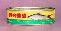 鲜炸鲮鱼罐头