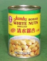 Boiled White Nut Shelled