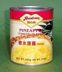 糖水菠蘿(塊粒)