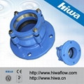 Tensile Restrained Flange Adaptor for HDPE Pipe 1