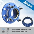 Tensile Restrained Flange Adaptor for HDPE Pipe 4