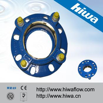 Tensile Restrained Flange Adaptor for HDPE Pipe 5