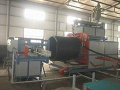 HDPE大口徑纏繞管生產線