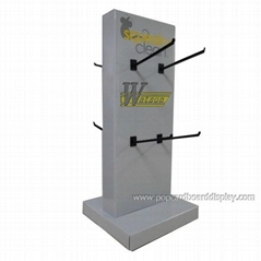 retail stationery corrugated paper countertop display