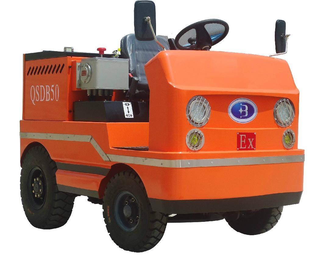 QSDB tractor with explosion-proof accumulator 1