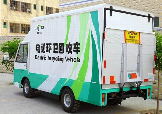 Electric sanitation car 2