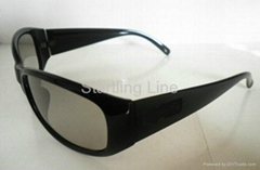 Durable fashion 3D Circular Polarized Glasses for 3D cinema,3D TV