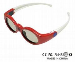 Fashion Model Kids 3D Shutter Glasses for DLP-Link Projector
