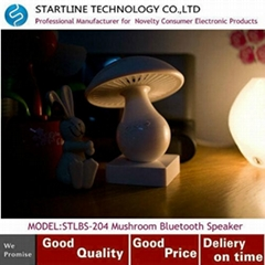 Fashionable Mushroom Design Bluetooth Speaker