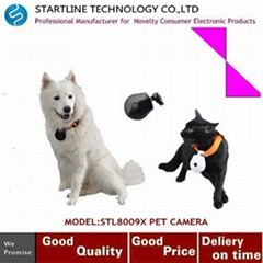 LCD Screen Digital Eye Automatic Pet Camera for Dog DVR Auto Interval Recorder