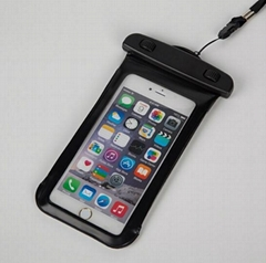 Low price PVC camping waterproof cellphone case for iphone 6