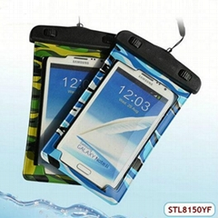 hot sale camouflage color waterproof float bag for iphone 4s 5s