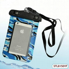 Lastest Fashion cheap waterproof dry bag for cell phone in water