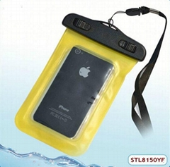 Durable travel mobile phone waterproof cover
