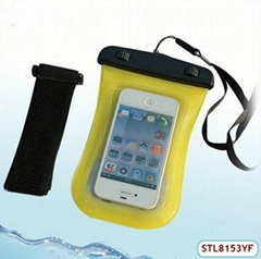 Hot selling waterproof arm case for samsung galaxy note n7000