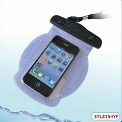 newest ipx8 diving 5-10m waterproof case for htc one mini